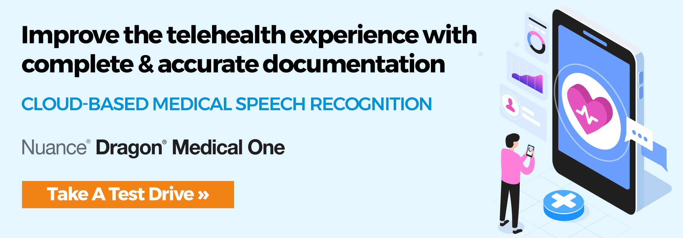 Improve the telehealth experience with complete & accurate documentation - Dragon Medical One